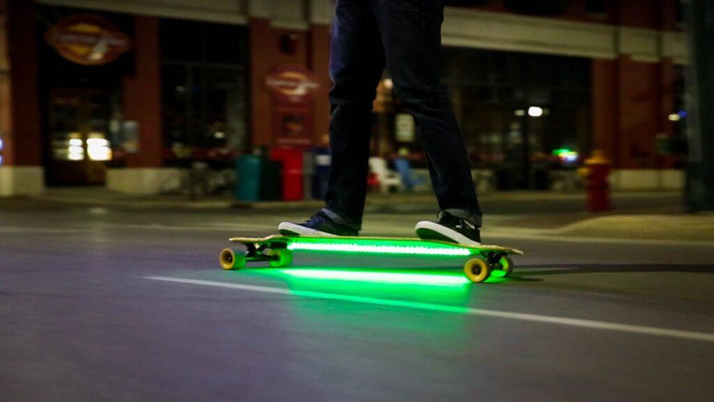 led lights for longboard