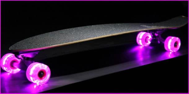lightup longboard wheels
